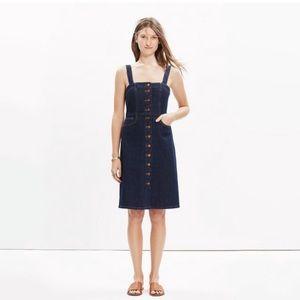 Madewell Denim Overall Dress