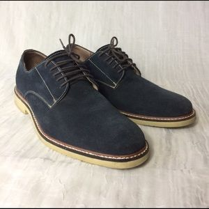 Banana Republic Other - Banana Republic • Navy Suede Oxfords