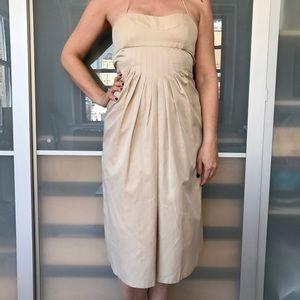 Doo.Ri Dresses & Skirts - Doo Ri nude strapless dress with bustier top