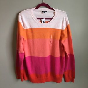 GAP Sweaters - NWT GAP Lightweight Colorblock Sweater