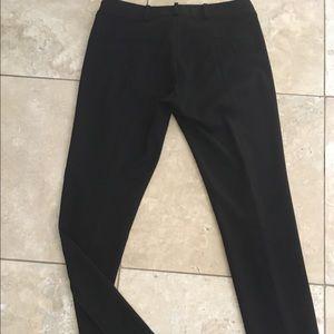 Zara Pants - Black pants with ankle zips