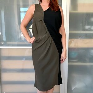 Zero + Maria Cornejo Dresses & Skirts - Zero + Maria Cornejo color block crepe dress