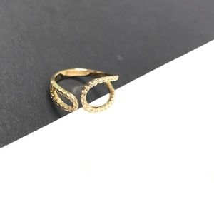 Gold dipped ring