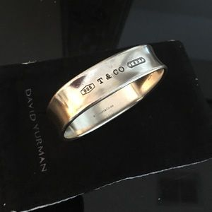 Tiffany Co sterling bangle