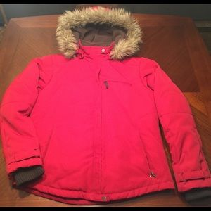 Pacific Trail Jackets & Blazers - Pacific trail Women's Large Jacket fur lined hood