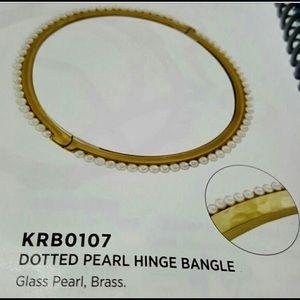 SILPADA💋Dotted Pearl HINGE BANGLE💋NWT💋FINAL