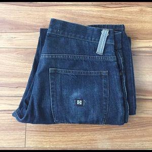 KR3W Other - Krew Dark Wash Straight Jeans