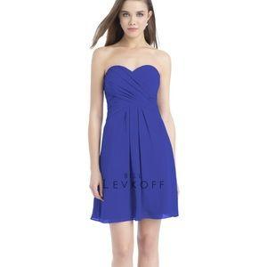 Bill Levkoff Dresses & Skirts - Bill Levkoff style 721 Horizon blue bridesmaid 👗