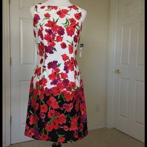 Chaps Dresses & Skirts - Chaps Floral Sleeveless Dress 🎉HP X2🎉