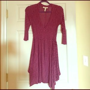 Jessica Simpson Maternity knit sweater dress