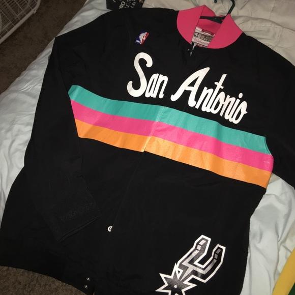 9a193034c 94-95 San Antonio Spurs Warm Up Jacket