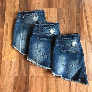 Pants - ☀️SUMMER SALE High Waist Denim Shorts