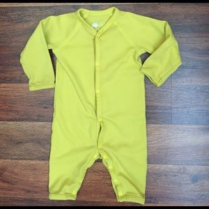 Primary Other - Primary Mustard Snap up Jumper size 6-9 Months