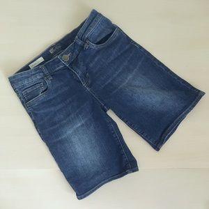 Kut from the Kloth Pants - Kut boyfriend denim short medium-dark wash
