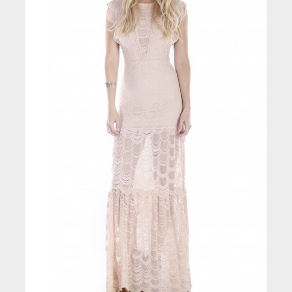 Nightcap caletto victorian lace mini dress