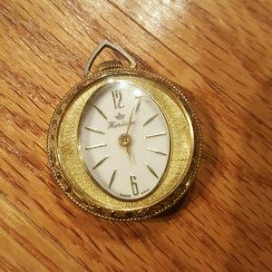 Vintage Heritage Watch Pendant