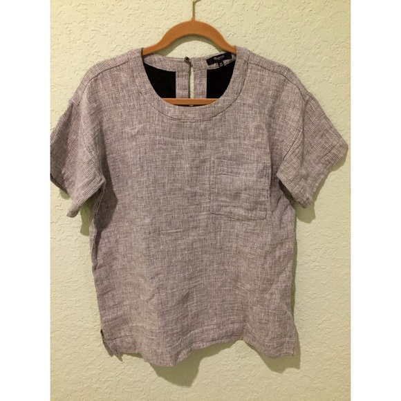 Madewell Tops - Madewell double-faced top with pocket