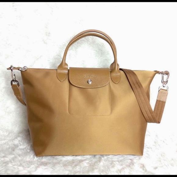 985a180b20a Longchamp Bags   Neo Tan   Poshmark