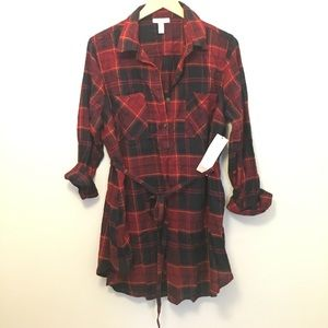 Liz Lange for Target Tops - Plaid tunic top