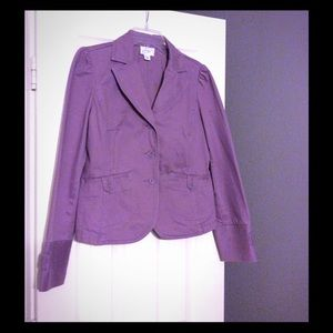 LOFT Jacket. Size 8. Light Purple.