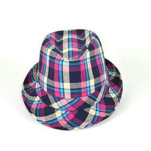 Nollia Other - Purple Plaid Fedora