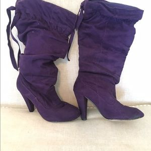 Jo-Jo Shoes - Purple boots