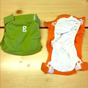 Other - gDiaper Newborn cloth diapers with liners