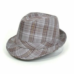 Nollia Other - Beige Plaid Fedora