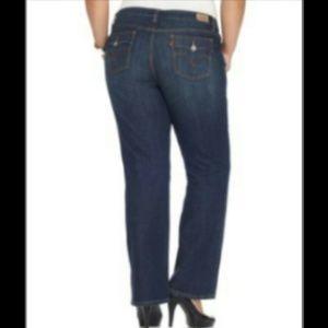 05a7fa7fd7f Levi s Jeans - Levi s Plus Size 590 Fuller Waist Bootcut Jeans