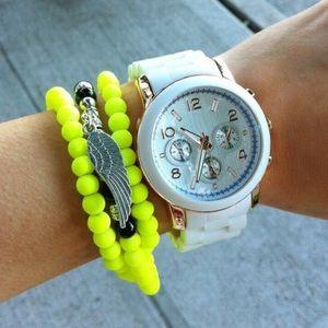 **SALE**Neon Wing Charm Bracelet!