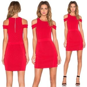Parker Boomerang Dress in Poinsettia