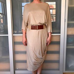 Ports 1961 Dresses & Skirts - Ports 1961 khaki jersey dress