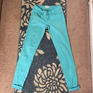 Turquoise Blue Jeggings!