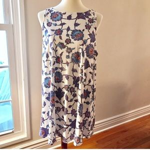 NWT WILDFOX Floral Dress L