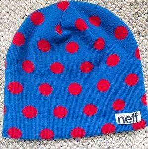 Neff Accessories - Neff polka dot beanie