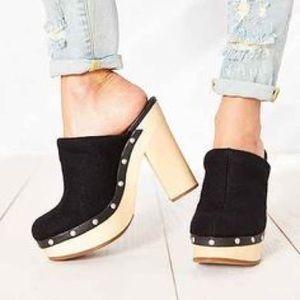 Woolrich Shoes - Anthropologie Woolrich Platform Mule Clogs