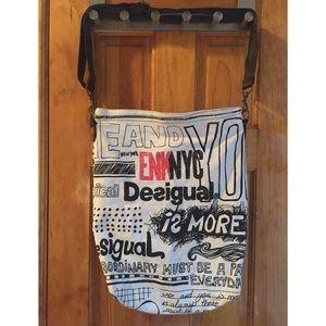 Desigual Handbags - 30% OFF BUNDLES Desigual Canvas Crossbody Bag