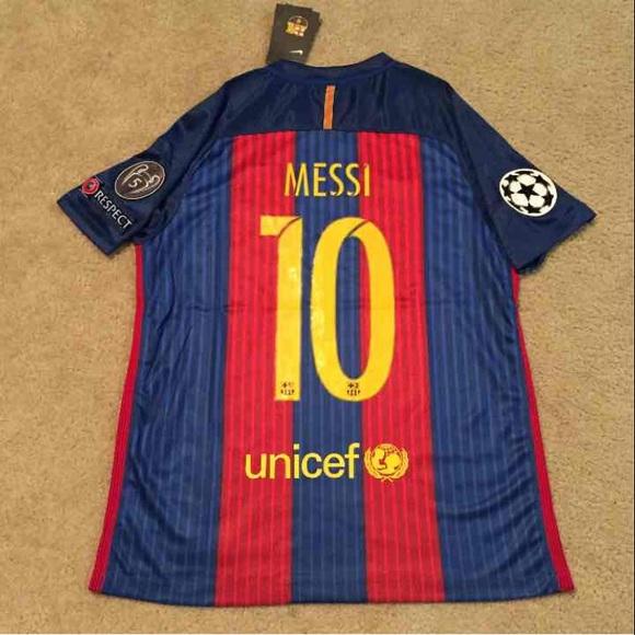 de0eb291d BARCELONA Soccer Jersey MESSI 2016 17 BRAND NEW