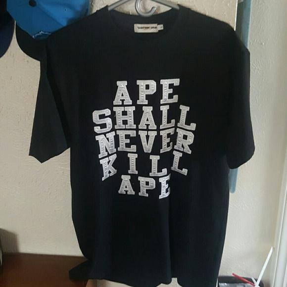 671bc0a0 a bathing ape Shirts | Bape Mens Tee | Poshmark