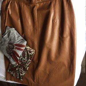 Nordstrom Dresses & Skirts - leather pencil skirt