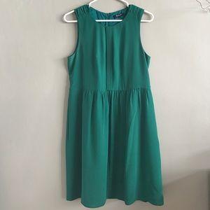 Emerald Green Madewell Dress