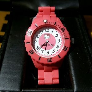 Hello Kitty- Pink Watch