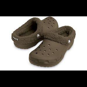 CROCS Shoes - CROCS🔹FUR LINED CROCS🔹NWOT