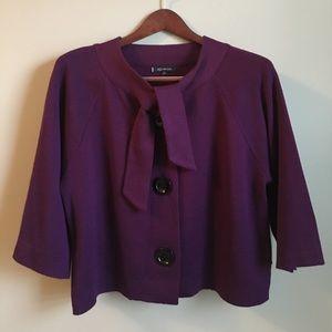 Anne Klein Jackets & Blazers - ❗️SALE❗️Anne Klein Purple Wool Blazer