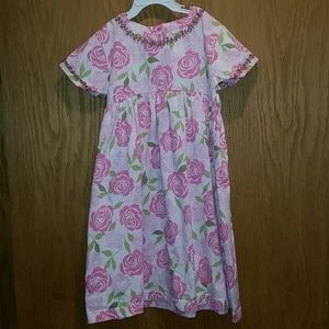 Hanna Andersson size 110 Floral Dress
