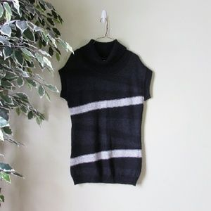 Design History Sweaters - Design History // Cowl Neck Sleeveless Sweater