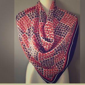Vintage silky Headscarf Neck scarf
