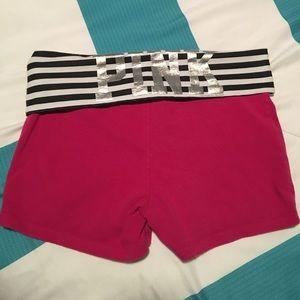 PINK Victoria's Secret Pants - VS Pink yoga shorts