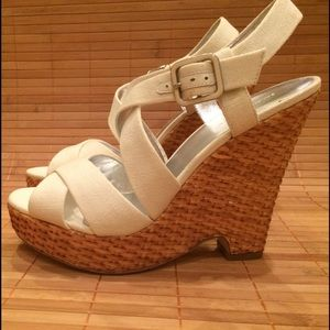 Banana Republic Shoes - Banana Republic Veronique wedge sandal- NWB 8.5