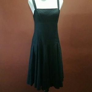 Ralph Lauren black dress size 8